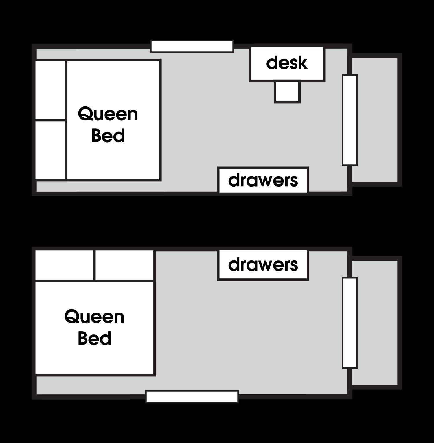 floor plan for sandstone portable cabin for rent
