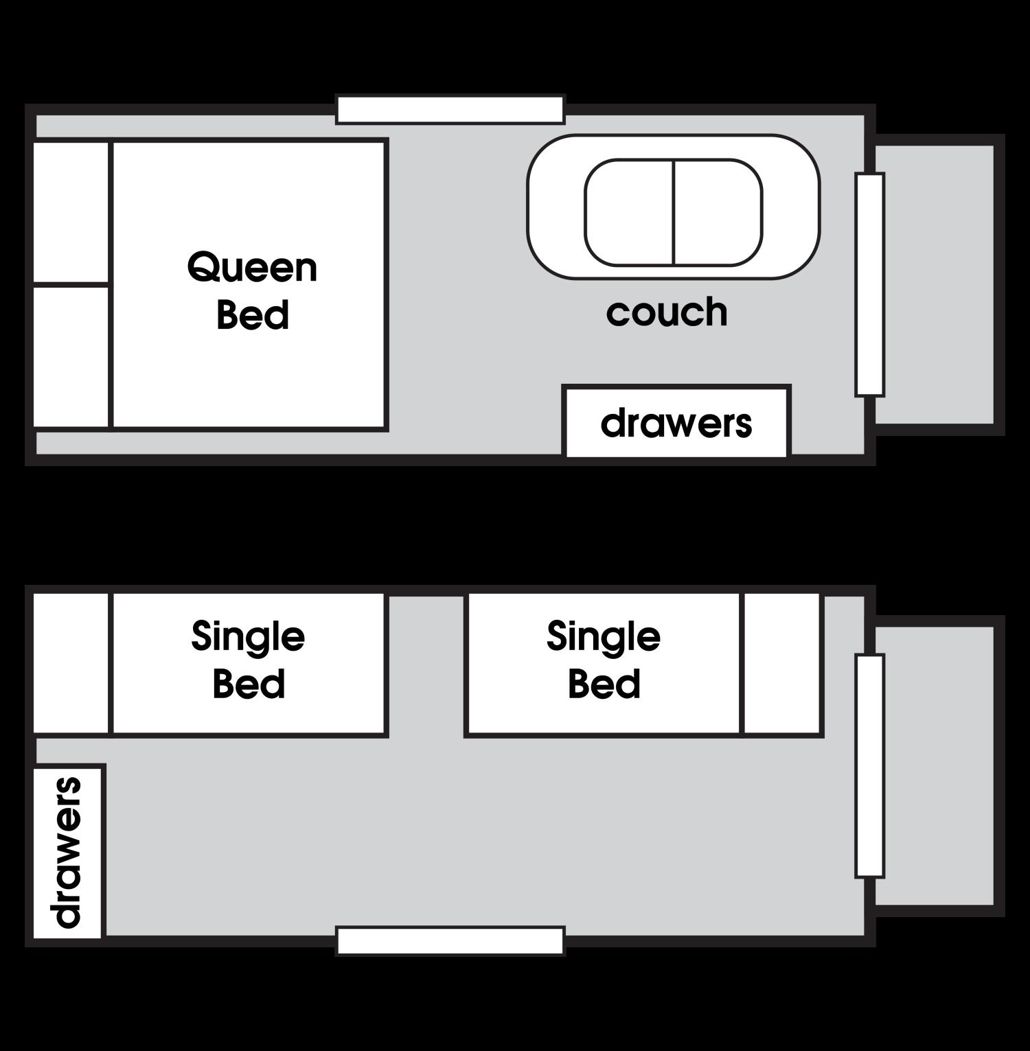 floor plan for tasman portable cabin for rent